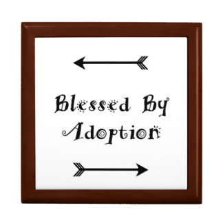 Caja De Regalo Bendecido por la adopción - acogida