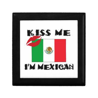 Caja De Regalo béseme que soy mexicano