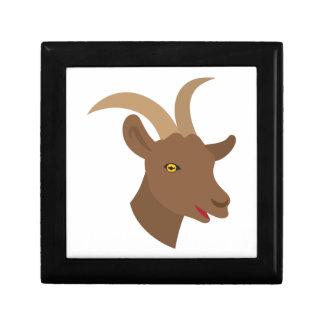 Caja De Regalo cara linda masculina de la cabra