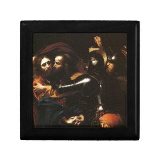 Caja De Regalo Caravaggio - el tomar de Cristo - ilustraciones