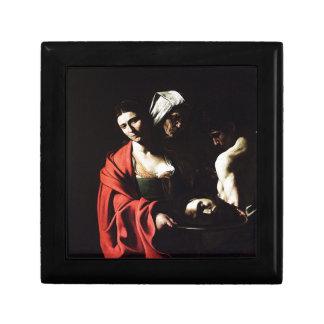 Caja De Regalo Caravaggio - Salome - ilustraciones barrocas