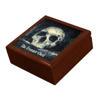 Caja De Regalo Cofre del tesoro del cráneo