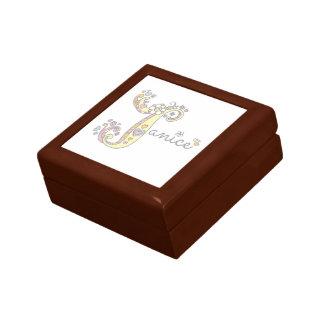 Caja de regalo conocida personalizada de j Janice