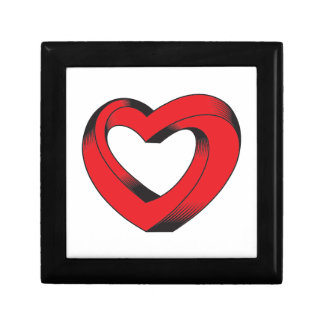 Caja De Regalo corazón imposible torcido