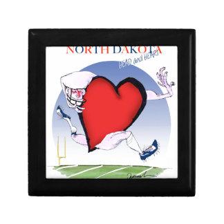 Caja De Regalo corazón principal de Dakota del Norte, fernandes