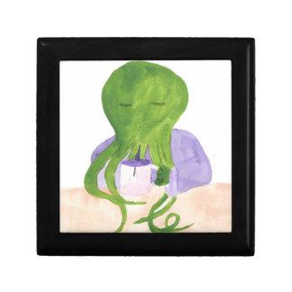 Caja De Regalo Cthulhu tiene una taza de té