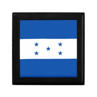 Caja de regalo de la bandera de Honduras
