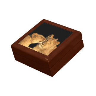 Caja de regalo de los pares del león
