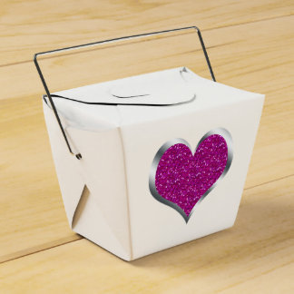 Caja de regalo del dulce 16 del favor del boda del