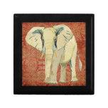 Caja de regalo del elefante blanco