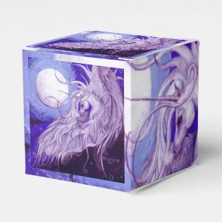 Caja de regalo del unicornio