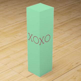 Caja de regalo del vino de XOXO