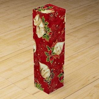 Caja de regalo del vino del modelo del bulbo del