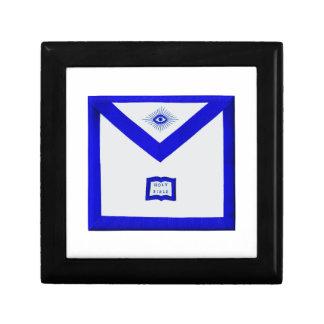 Caja De Regalo Delantal del capellán de los albañiles