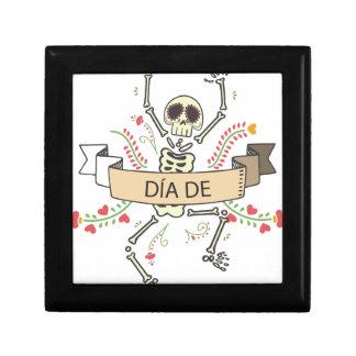 Caja De Regalo Diámetro DE Festival de los muertos