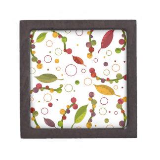 Caja De Regalo Diseño floral adorable
