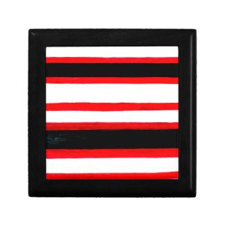 Caja De Regalo Diseño rayado de la abstracción