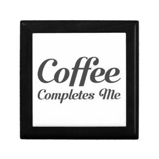 Caja De Regalo El café me termina