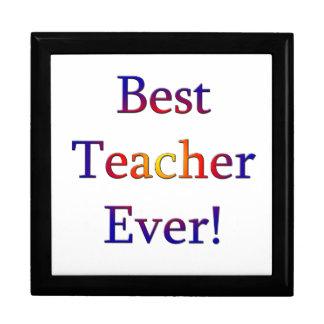 Caja De Regalo El mejor profesor nunca