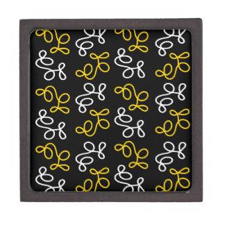 Caja De Regalo Elegancia - amarillo