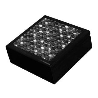 Caja De Regalo Escalas blancos y negros de Falln