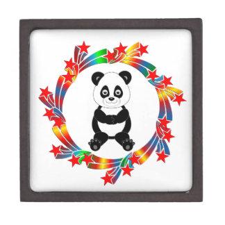 Caja De Regalo Estrellas de la panda