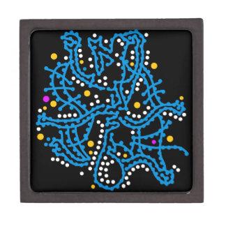 Caja De Regalo Fantasía azul