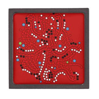 Caja De Regalo Fantasía roja