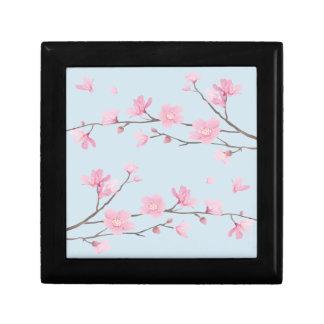 Caja De Regalo Flor de cerezo - Transparente-Fondo