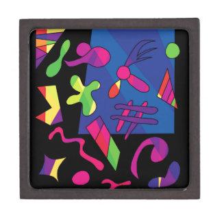 Caja De Regalo Formas coloridas