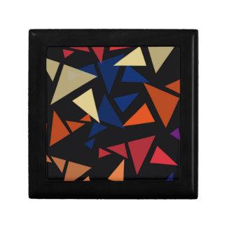 Caja De Regalo Formas geométricas coloridas