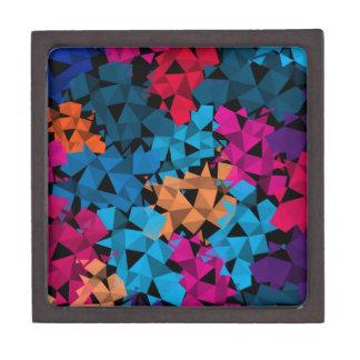 Caja De Regalo Formas geométricas coloridas 3D