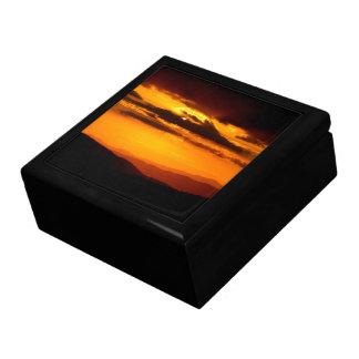 Caja De Regalo Foto hermosa de la puesta del sol