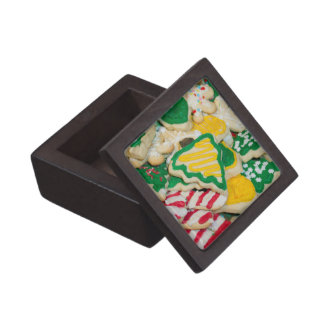 Caja De Regalo Galletas de azúcar hechas en casa heladas