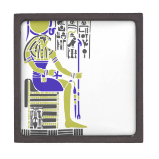 Caja De Regalo Horus el halcón Egyption Heiroglyph
