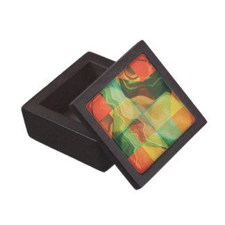 Caja De Regalo Ilustraciones abstractas