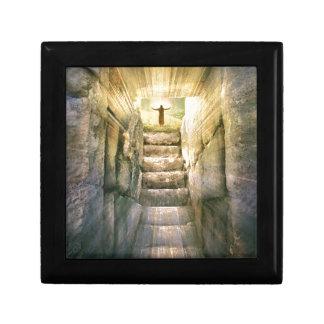 Caja De Regalo Jesús en la resurrección vacía de Pascua de la