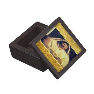 Caja De Regalo Jesús que rompe textura del oro de matthew 14-13