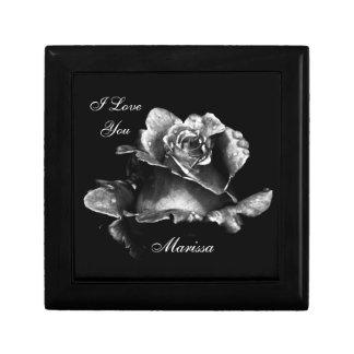 Caja De Regalo La Rose perfecta te amo