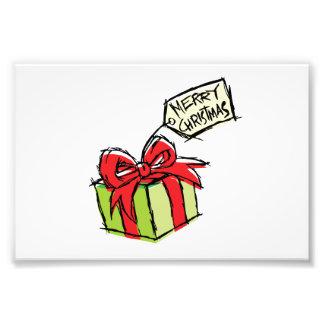 Caja de regalo linda de encargo con la tarjeta de cojinete