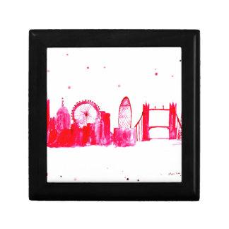 Caja De Regalo Londres rosado