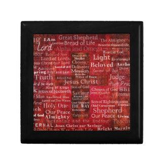 Caja De Regalo Los nombres del Jesucristo de la biblia