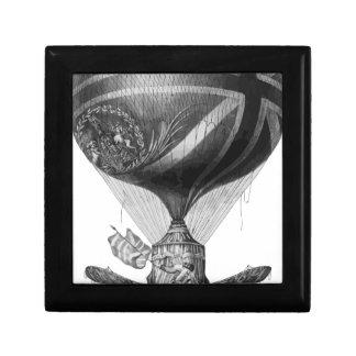 Caja De Regalo Lunardi's_New_Balloon_as_it_ascended_with_Himself_