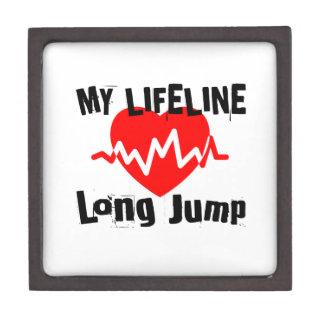 Caja De Regalo Mi línea de vida salto de longitud se divierte