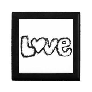 Caja De Regalo moderno simple blanco del negro del doodle del