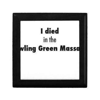 Caja De Regalo Morí en la masacre de Bowling Green
