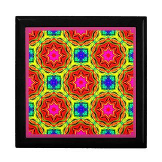 Caja De Regalo ~ muy brillante del fractal de las estrellas del ~