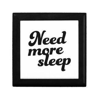 Caja De Regalo ¡Necesite más sueño!