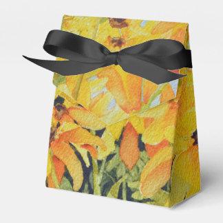 Caja de regalo Negro-Observada acuarela de Susan