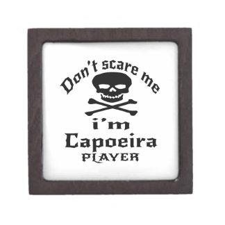 Caja De Regalo No me asuste que soy jugador de Capoeira